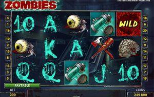 Zombies Spielautomat /NetEnt
